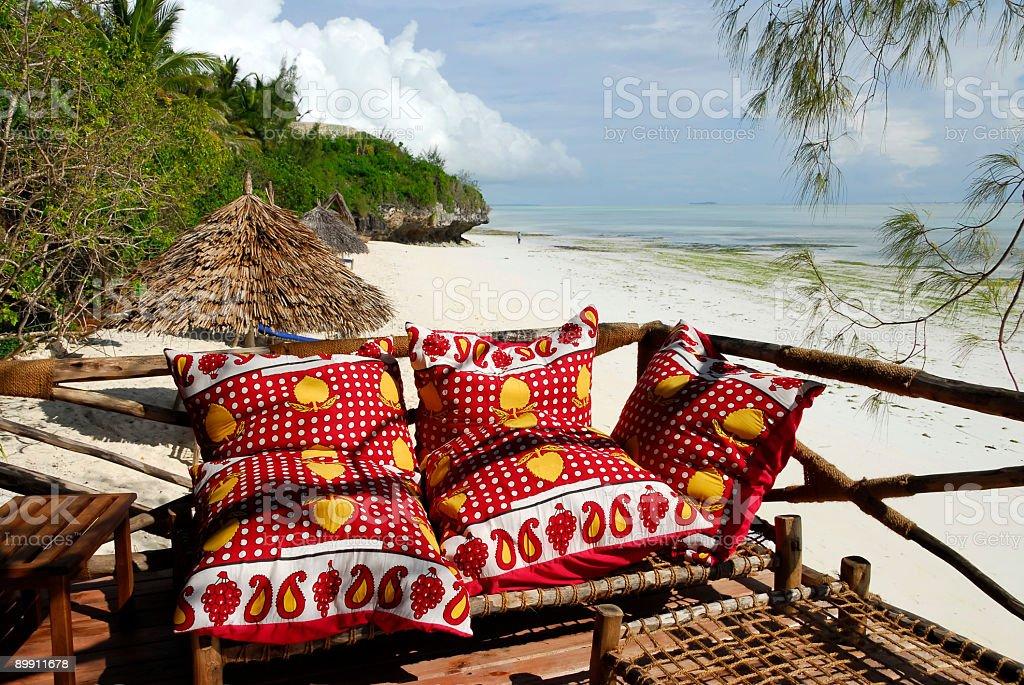 bar en la playa foto de stock libre de derechos