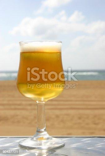 istock Beach Beer 92437721