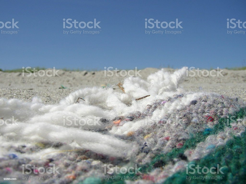 Beach Blanket royalty-free stock photo