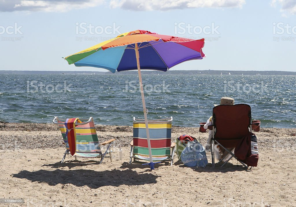 Beach Bliss royalty-free stock photo