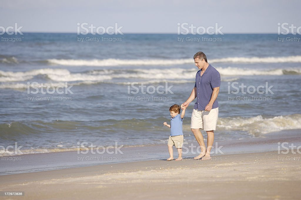 beach bonding royalty-free stock photo