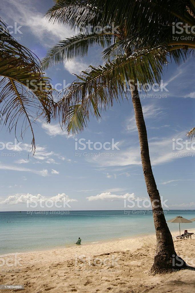 Beach Boracay royalty-free stock photo