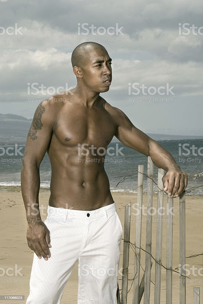 Beach Boy. royalty-free stock photo