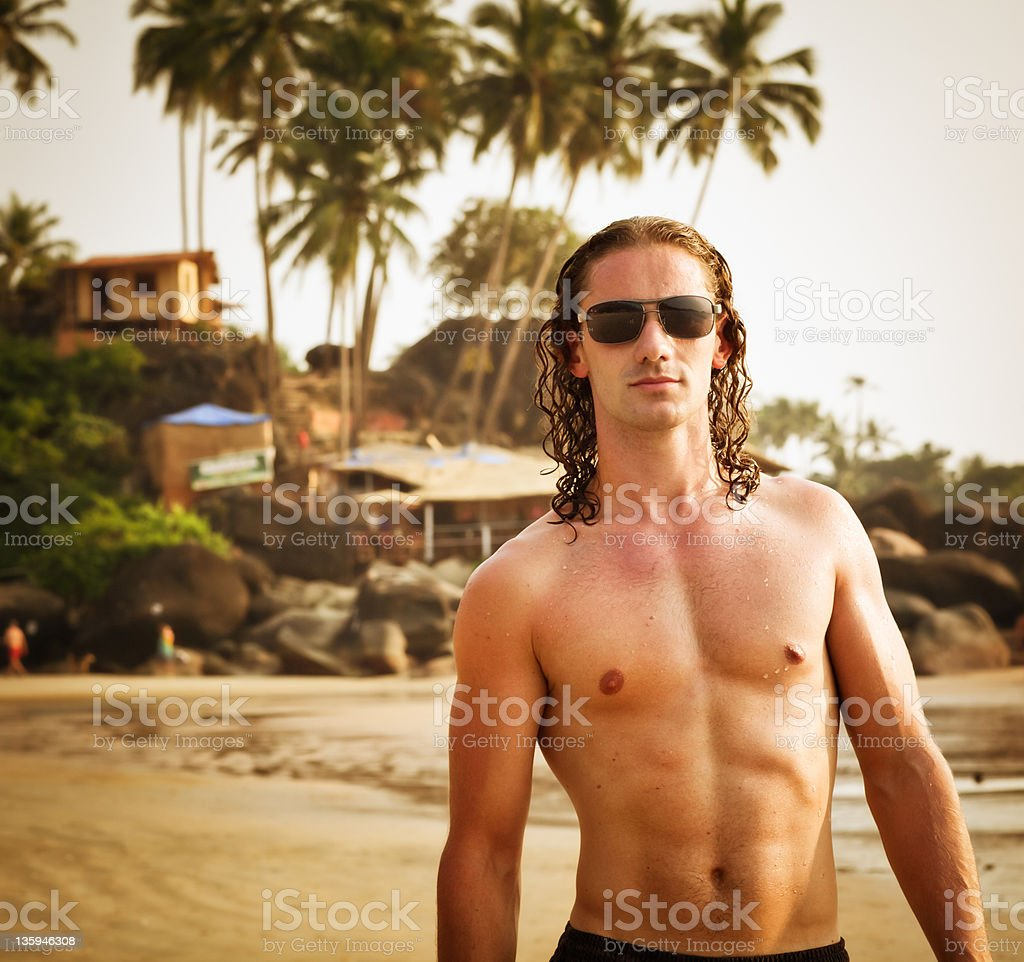 Beach Boy royalty-free stock photo