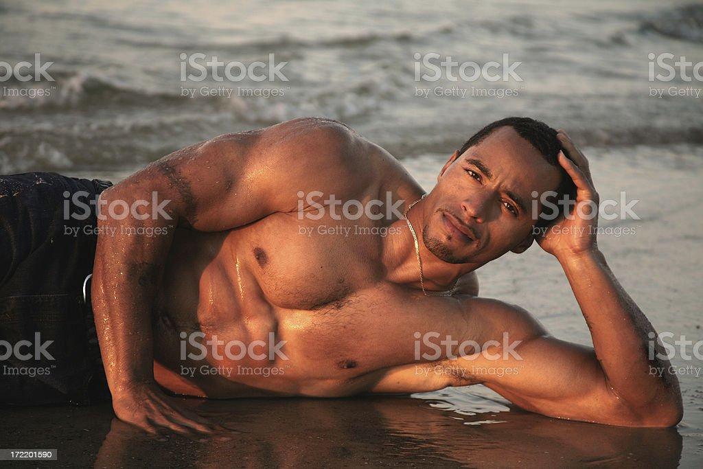 Beach Boy royalty-free stock photo