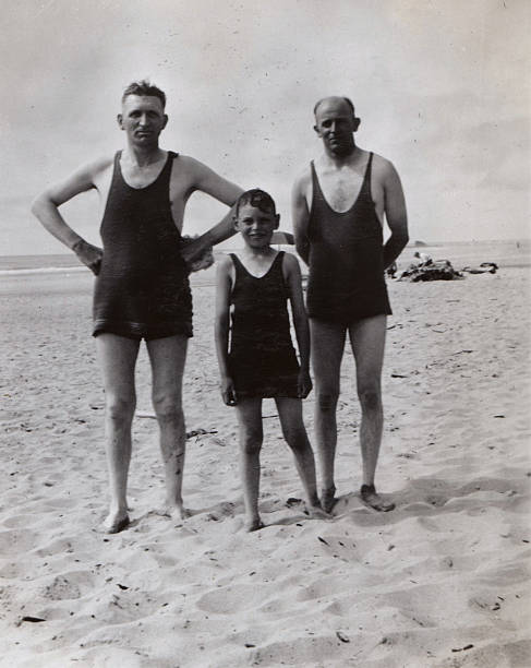 beach boys, 1934 - 1930s style stock photos and pictures
