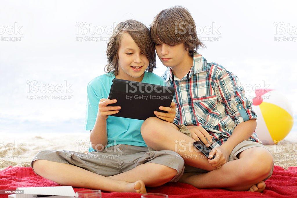 Beach Boys - Modern Playing royalty-free stock photo