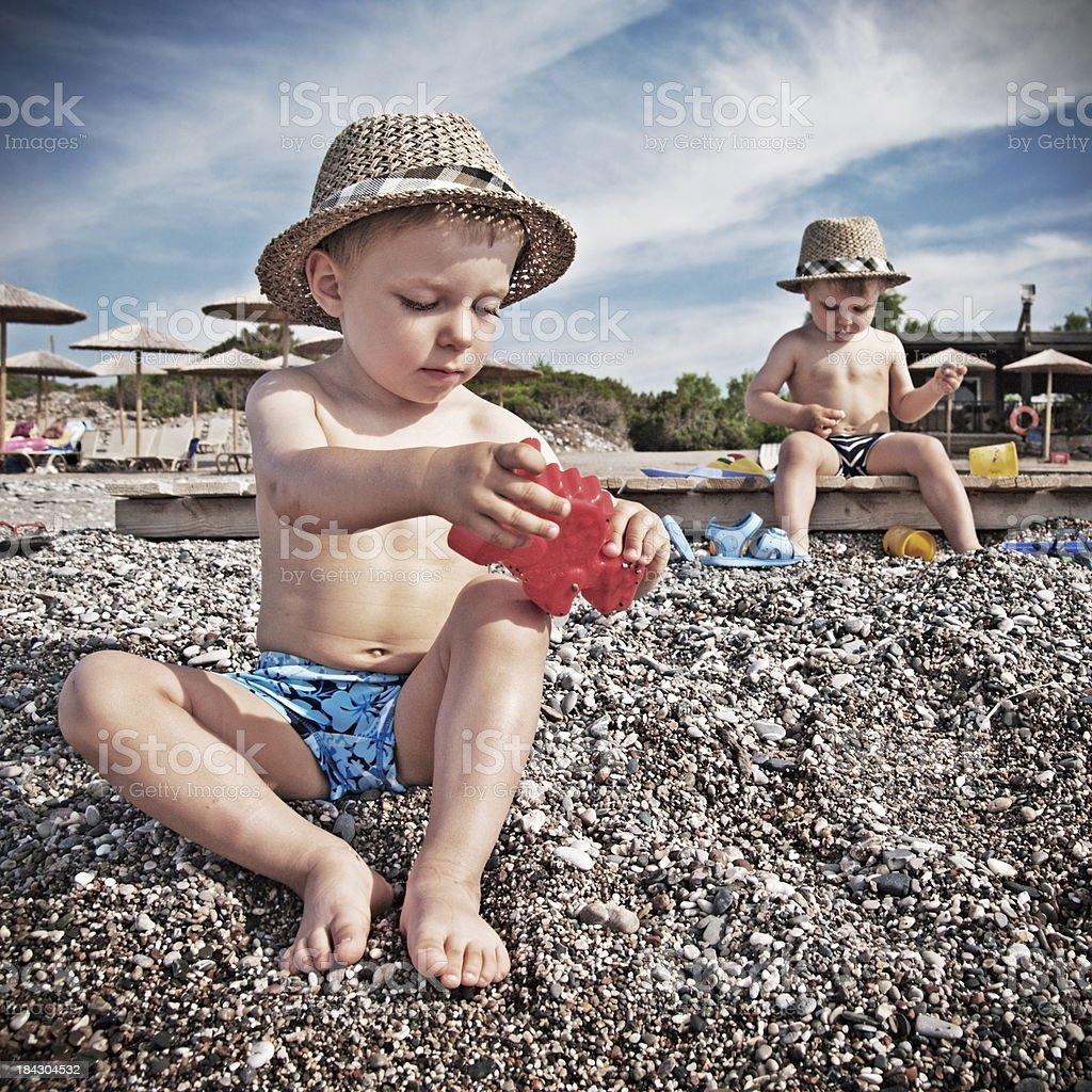 Beach boys stock photo