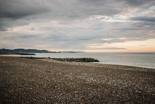 plage, bray, république d''irlande, comté millésimé du de wicklow - république photos et images de collection