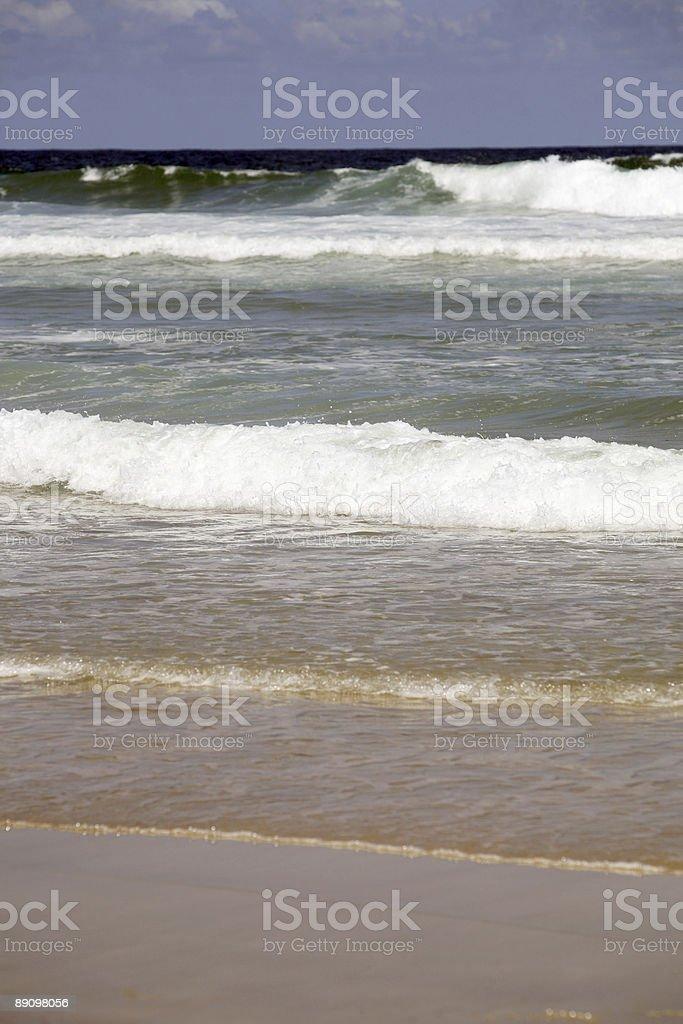 Beach Breakers royalty-free stock photo