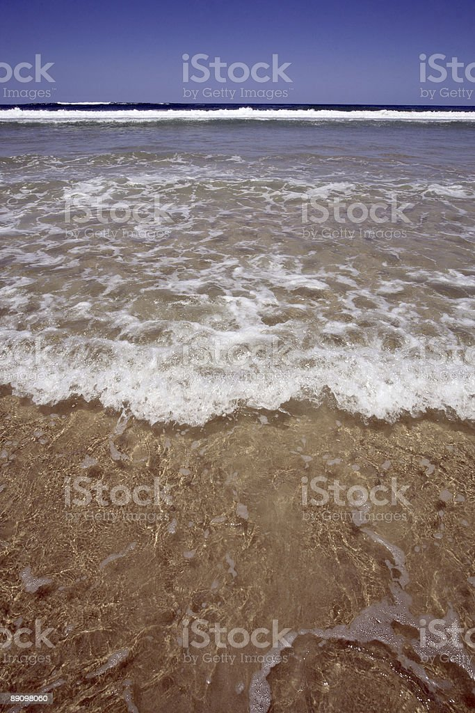 Beach Breakers Wash royalty-free stock photo