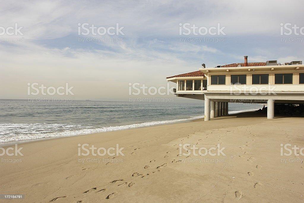 Beach Building stock photo