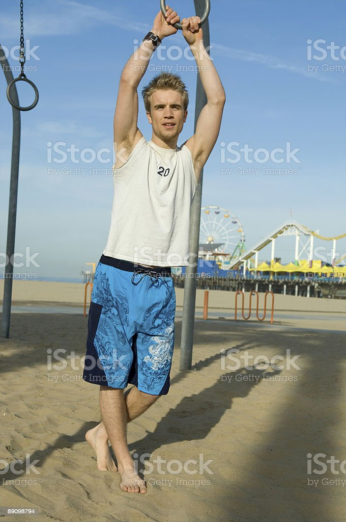 Beach Bum royalty-free stock photo