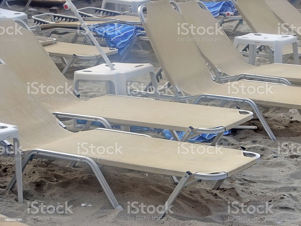 Beach cafe royalty-free stock photo