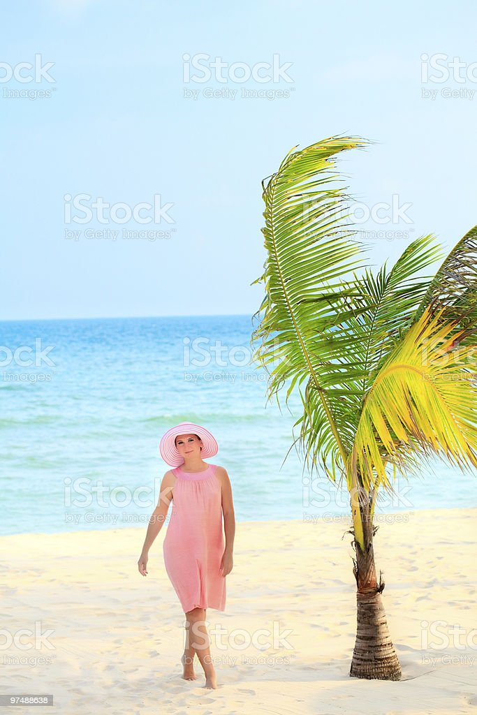 Beach concept royalty-free stock photo
