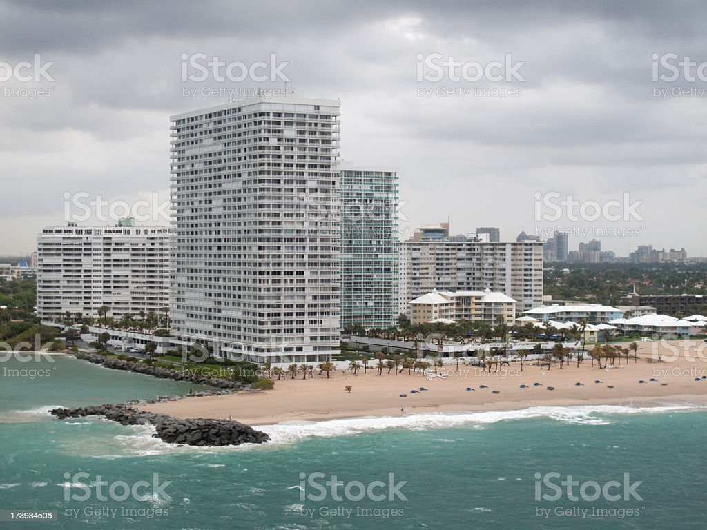 Beach Condo royalty-free stock photo