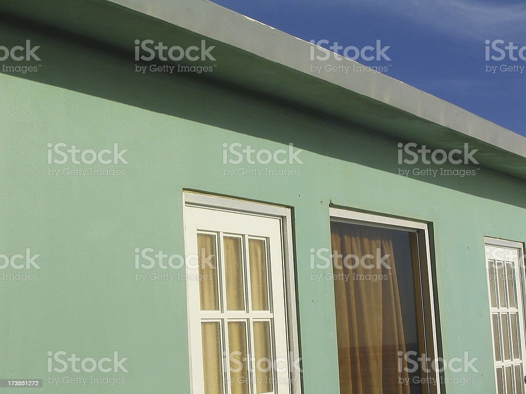 Beach Cottage I royalty-free stock photo