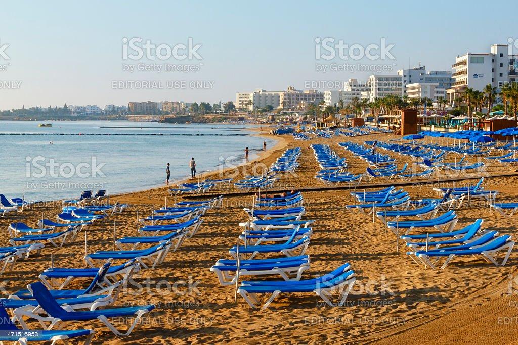 beach Cyprus royalty-free stock photo