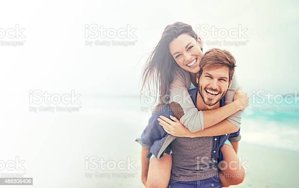 Beach Datum Stockfoto und mehr Bilder von Junges Paar