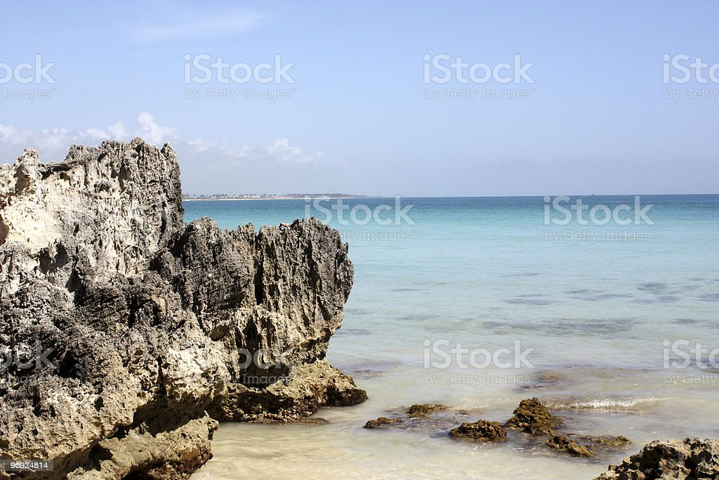 Beach Dominican Republic royalty-free stock photo