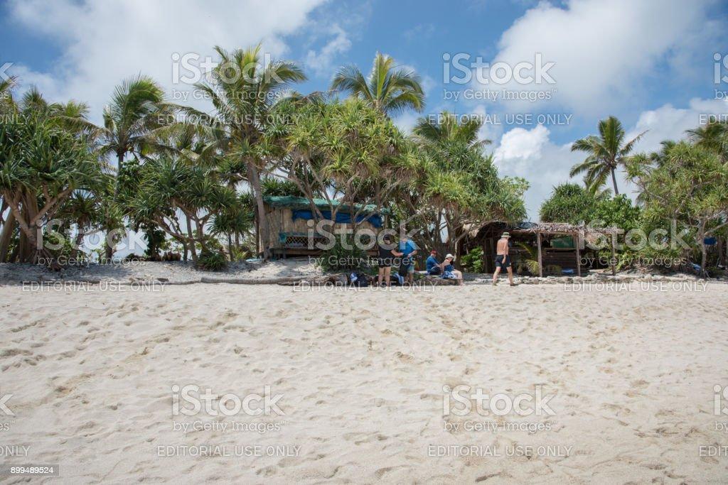 Beach Enjoyment stock photo