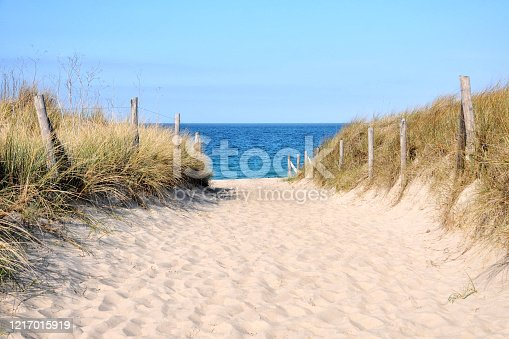 istock Beach entrance on Atlantic coast 1217015919