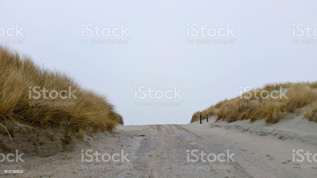 Zugang zum Strand – Foto