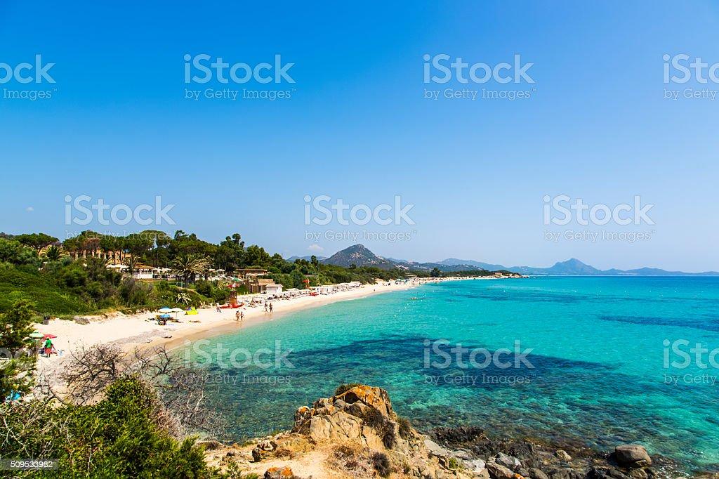 Extensão de Praia stock photo