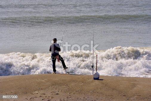 istock Beach Fishing 89227000
