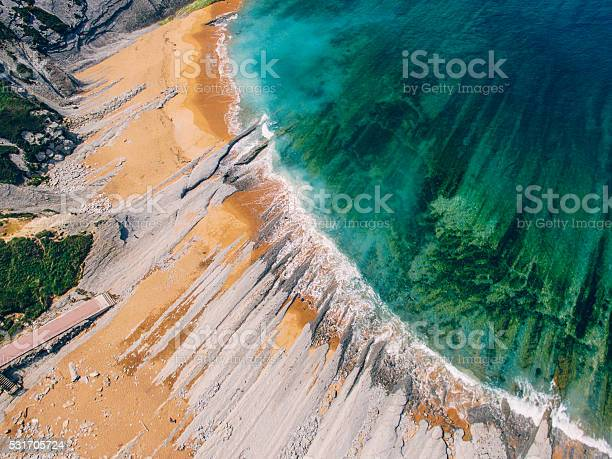 Photo of Beach from above