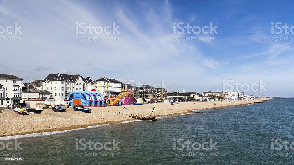 Plaża od molo – zdjęcie