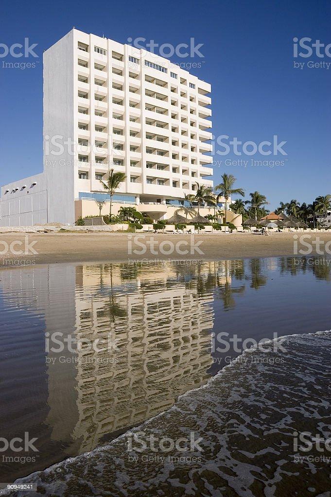 Beach Front Condo royalty-free stock photo