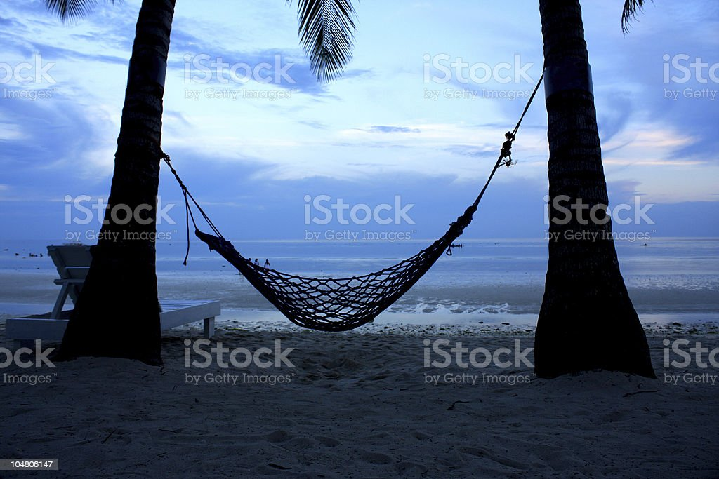 Beach Front royalty-free stock photo