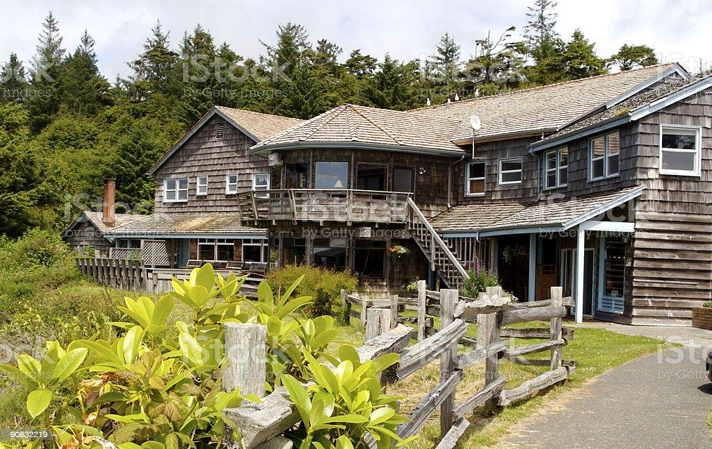 Beach Front Resort royalty-free stock photo