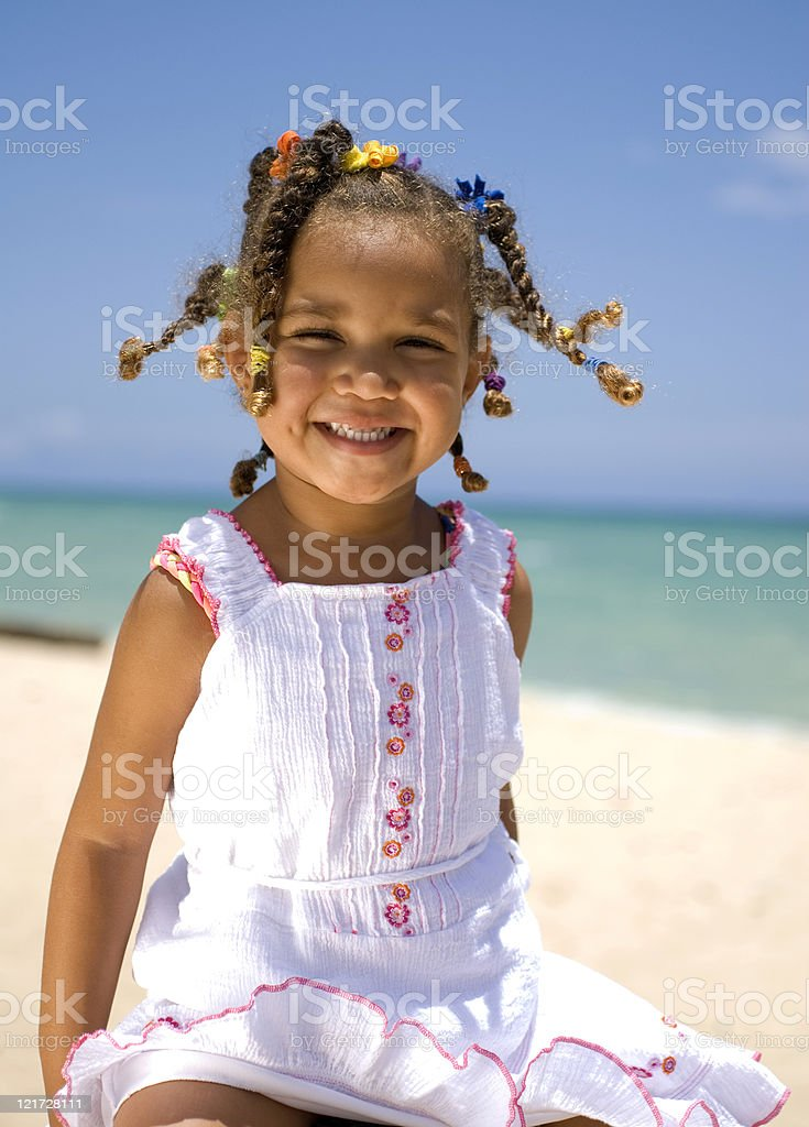 Beach fun royalty-free stock photo