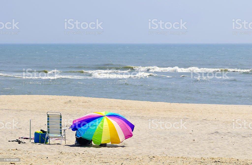 Beach getaway royalty-free stock photo