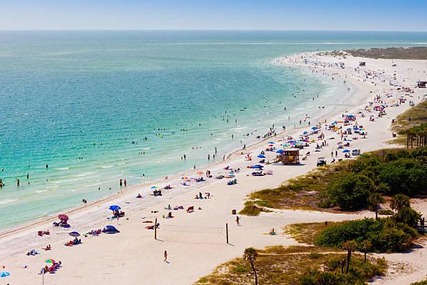 Strandfreunde auf Lido Beach in Sarasota, FL – Foto