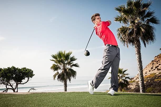 Beach Golf stock photo