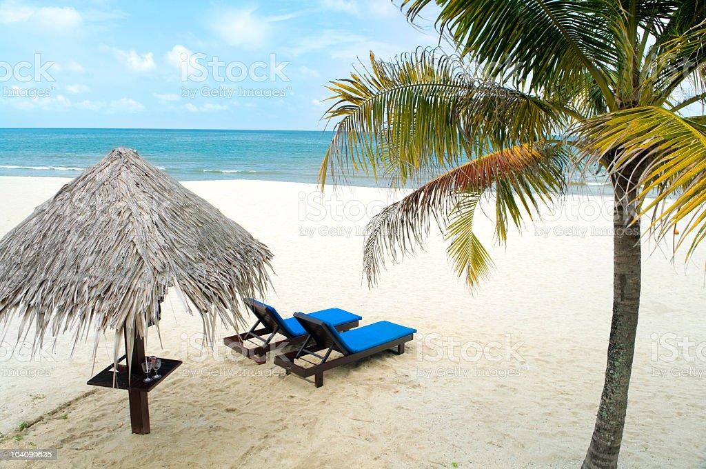 Beach holiday royalty-free stock photo