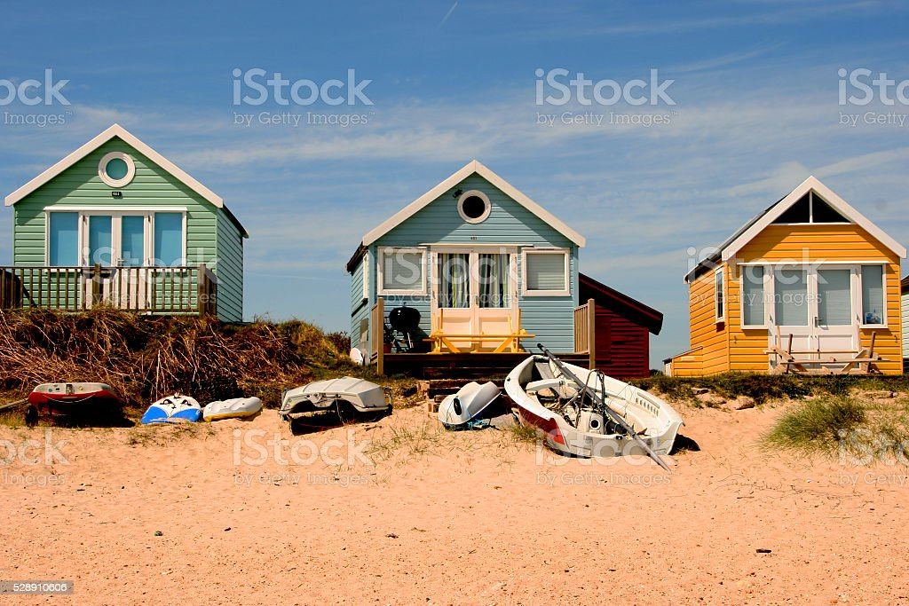 Beach holiday stock photo