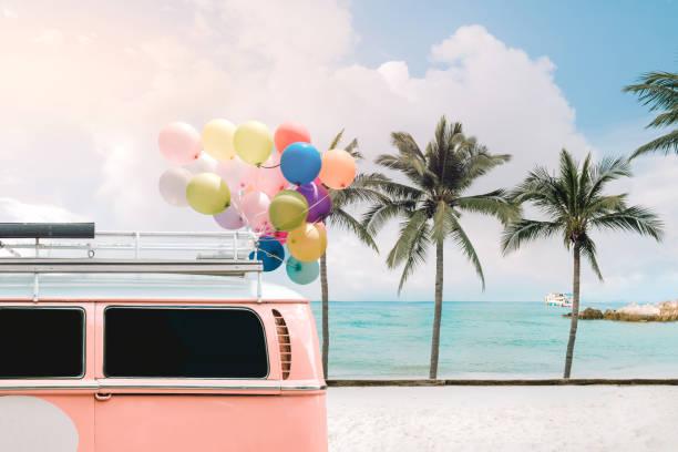 Beach holiday stock photo