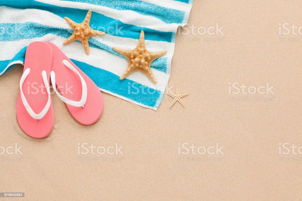 Beach holiday. stock photo