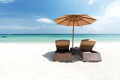 Beach holiday scene