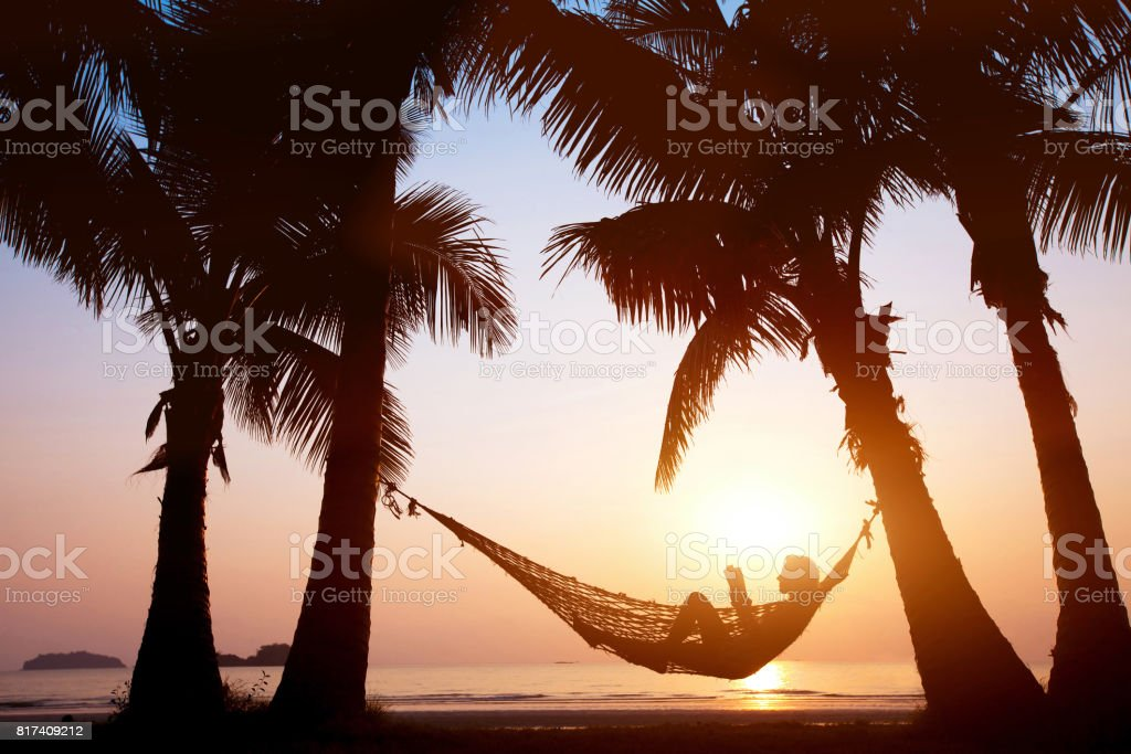 beach holidays stock photo
