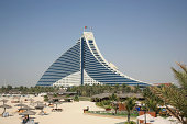 Jumeirah Beach Hotel Building Like Large Blue Billow