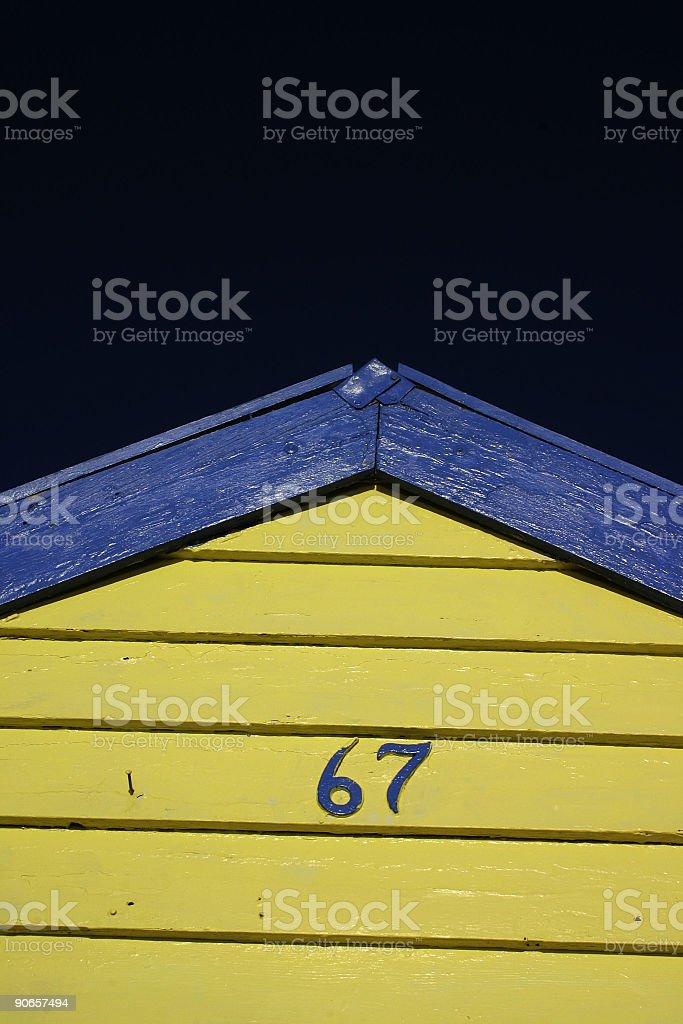 Beach House royalty-free stock photo