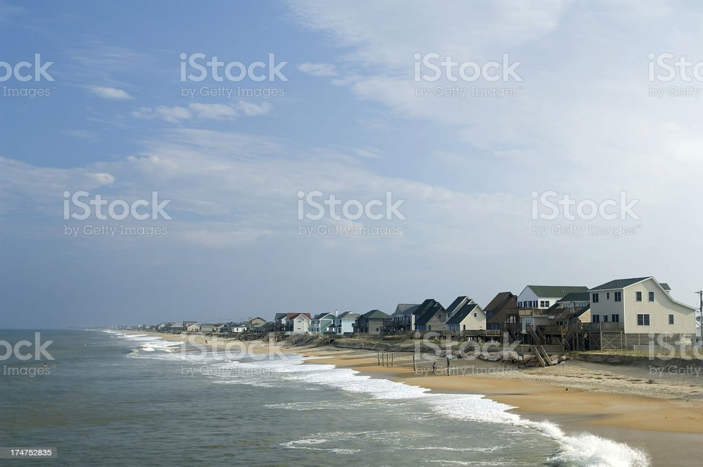 Beach Houses stock photo