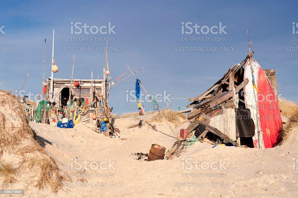 Beach Hut aus Flotsam – Foto