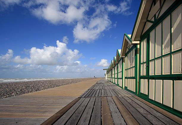 Beach huts in Cayeux sur mer