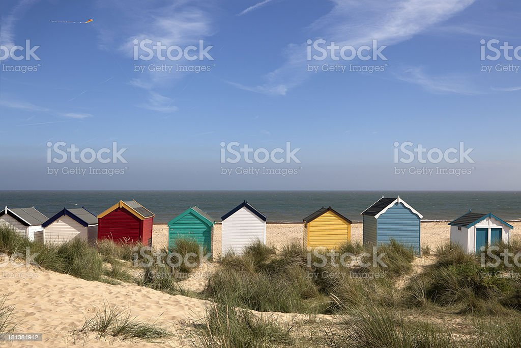 Beach Huts, Southwold, East Anglia (XXXL) stock photo